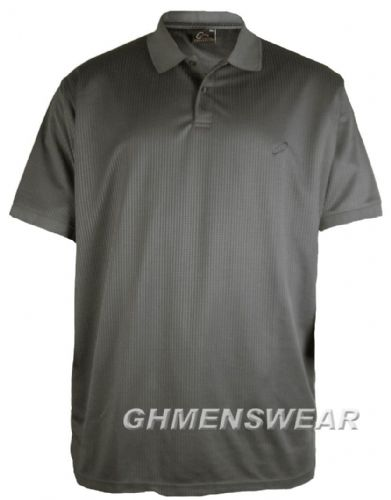 Mesh Polo Shirt GREY